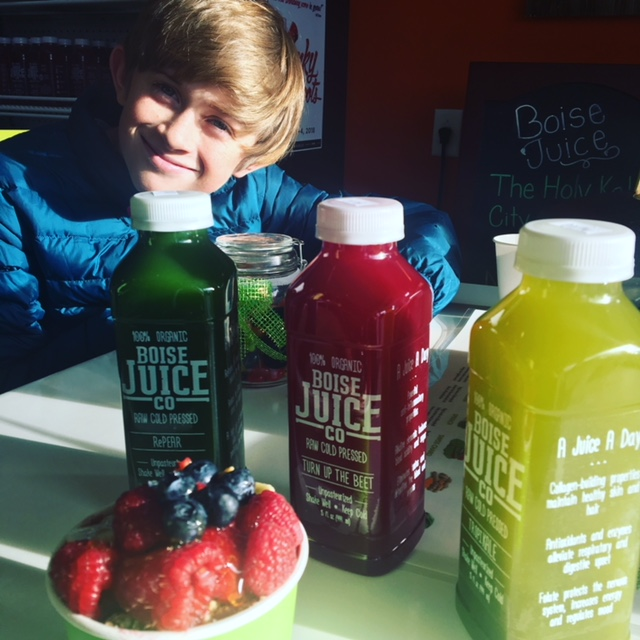 My Favorite Local Juice place here in Boise is Boise Juice